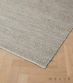 Weave - Andes Rug - Feather  | Rug Fabric - Beige, Plain, Weave