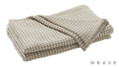 Weave - Sausalito Throw - Sandstorm  | Throw Fabric - Beige, Weave, Chevron, Zig Zag