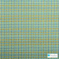 Duralee - 15504-601 - Aqua/Green  | Upholstery Fabric - Stain Repellent, Outdoor Use, Stripe, Synthetic, Washable, Standard Width