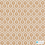Duralee - 36239-36 - Orange  | Upholstery Fabric - Geometric, Natural Fibre, Dry Clean, Natural, Standard Width