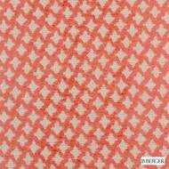 B. Berger - 71058-33 - Persimmon  | Upholstery Fabric - Burgundy, Fire Retardant, Red, Silver, Fibre Blends, Ikat, Chenille