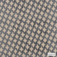 B. Berger - 71058-296 - Pewter  | Upholstery Fabric - Brown, Fire Retardant, Silver, Fibre Blends, Ikat, Small Scale