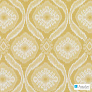 Duralee - 71075-66 - Yellow  | Upholstery Fabric - Gold,  Yellow, Medallion, Synthetic, Dry Clean, Standard Width