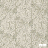 Zoffany Pietra Damask 322332  | Curtain & Upholstery fabric - Art Noveau, Craftsman, Damask, Fibre Blends, Floral, Garden, Traditional, Commercial Use, Domestic Use