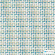 Duralee - 71093-339 - Caribbean  | Upholstery Fabric - Blue, Silver, Basketweave, Synthetic, Turquoise, Teal, Chenille, Dry Clean, Standard Width