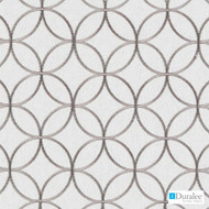Duralee - 73024-216 - Putty  | Curtain & Upholstery fabric - Beige, Fire Retardant, Grey, Silver, Fibre Blends, Geometric, Linen and Linen Look, Tan, Taupe, Dots, Spots