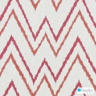 Duralee - 73033-151 - Grapefruit  | Upholstery Fabric - Burgundy, Fire Retardant, Silver, Terracotta, Geometric, Linen and Linen Look, Natural Fibre, Abstract, Dry Clean