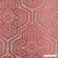 Highland Court - 190201H-198 - Tortoise - Petal  | Upholstery Fabric - Burgundy, Fire Retardant, Red, Silver, Geometric