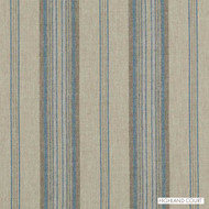 Highland Court - 190228H-11 - Steinbeck - Turquoise  | Upholstery Fabric - Beige, Blue, Gold,  Yellow, Silver, Stripe