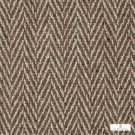 Zoffany Banyan 331674  | Curtain & Upholstery fabric - Brown, Natural Fibre, Traditional, Domestic Use, Herringbone, Natural, Semi-Plain, Twill, Standard Width