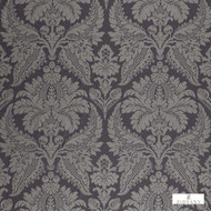 Zoffany Malmaison Damask 331934  | Curtain Fabric - Grey, Damask, Fibre Blends, Traditional, Commercial Use, Domestic Use, Standard Width