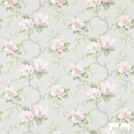 Zoffany Magnolia Bough 321448  | Curtain & Upholstery fabric - Farmhouse, Floral, Garden, Natural Fibre, Domestic Use, Natural, Standard Width