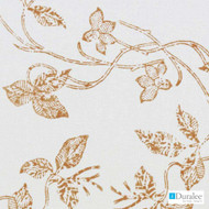 Duralee - De42515-716 - Chilipepper  | Curtain & Upholstery fabric - Beige, Floral, Garden, Linen and Linen Look, Natural