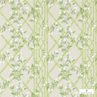 Zoffany Jasmine Lattice 311330  | Wallpaper, Wallcovering - Craftsman, Farmhouse, Floral, Garden, Commercial Use, Domestic Use, Lattice, Trellis