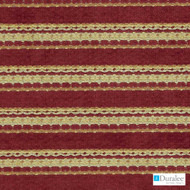 Duralee - Dn15824-192 - Flame  | Upholstery Fabric - Stain Repellent, Beige, Brown, Burgundy, Fire Retardant, Gold,  Yellow, Terracotta, Stripe, Synthetic, Backing, Backing