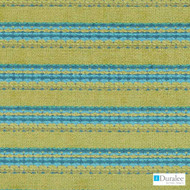 Duralee - Dn15824-619 - Seaglass  | Upholstery Fabric - Stain Repellent, Blue, Fire Retardant, Stripe, Synthetic, Backing