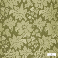 Zoffany Constantina 331917  | Curtain Fabric - Fire Retardant, Craftsman, Damask, Floral, Garden, Synthetic, Traditional, Washable, Domestic Use, Standard Width