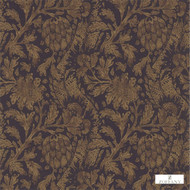 Zoffany Cochin 311709  | Wallpaper, Wallcovering - Craftsman, Damask, Floral, Garden, Jacobean, Pink, Purple, Traditional, Commercial Use, Domestic Use