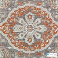 Duralee - Du16077-132 - Autumn  | Upholstery Fabric - Medallion, Mediterranean, Synthetic, Backing, Chenille, Dry Clean