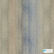 Duralee - Du16097-56 - Blue/Gold  | Upholstery Fabric - Beige, Blue, Stripe, Synthetic, Chenille, Dry Clean, Railroaded