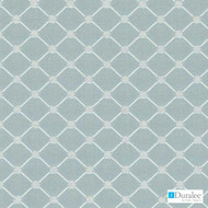 Duralee - Dw15940-19 - Aqua  | Upholstery Fabric - Blue, Fire Retardant, Fibre Blends, Midcentury, Turquoise, Teal, Chenille, Diamond - Harlequin, Dots, Spots, Dry Clean