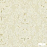 Zoffany Alvescot ZCDW07001  | Wallpaper, Wallcovering - Beige, Damask, Traditional, Domestic Use