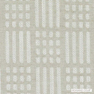 Highland Court - Hu15841-118 - Linen  | Upholstery Fabric - Beige, Fire Retardant, Silver, Check, Fibre Blends, Geometric, Linen and Linen Look, Midcentury, Stripe, Chenille