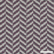 Highland Court - Hu15843-338 - Rebozo - Currant | Upholstery Fabric - Fire Retardant, Linen/Linen Look, Pink, Purple, Stripe, Dry Clean, Abstract