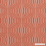 Highland Court - Hu16235-451 - Synergy - Papaya | Upholstery Fabric - Fire Retardant, Orange, Mid Century Modern, Dry Clean, Geometric, Moire