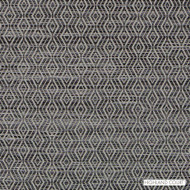 Highland Court - Hu16241-174 - Concourse - Graphite  | Upholstery Fabric - Fire Retardant, Fibre Blends, Ikat, Mediterranean, Diamond - Harlequin, Dry Clean, Standard Width