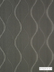 Pegasus Chicane - Sterling  | Curtain Fabric - Silver, Eclectic, Fibre Blends, Geometric, Midcentury, Ogee, Transitional, Domestic Use, Dry Clean, Standard Width
