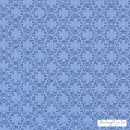 Bailey Griffin - 190240H-146 - Paloma Matelasse - Denim | Upholstery Fabric - Fire Retardant, Blue, Dry Clean, Geometric, Chevron, Zig Zag, Natural