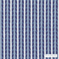 Bailey Griffin - 190241H-197 - Maluku Stripe - Marine | Upholstery Fabric - Fire Retardant, Blue, Stripe, Eclectic, Dry Clean, Herringbone, Teflon