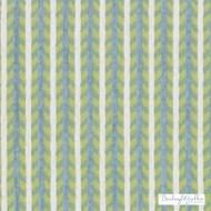 Bailey Griffin - 190241H-601 - Maluku Stripe - Aqua/Green | Upholstery Fabric - Fire Retardant, Green, Turquoise, Teal, Stripe, Eclectic, Teflon