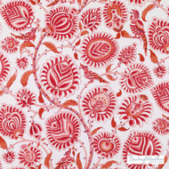 Bailey Griffin - 200007H-559 - B&G Salur - Pomegranate  | Curtain & Upholstery fabric - Burgundy, Red, Eclectic, Jacobean