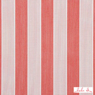 Lulu DK - 65006Ld-3 - Anguilla Ld - Raspberry  | Curtain & Upholstery fabric - Fire Retardant, Red, Teflon, Outdoor Use, Stripe, Synthetic, Bacteria Resistant, Commercial Use