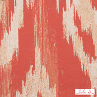 Lulu DK - 65013Ld-4 - Haven Ld - Tangerine | Curtain & Upholstery fabric - Fire Retardant, Orange, Red, Terracotta, Outdoor Use, Abstract, Moire