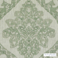 Bailey Griffin - Ba61239-24 - Tangiers - Celadon | Curtain Fabric - Fire Retardant, Linen/Linen Look, Green, Mediterranean, Traditional, Dry Clean