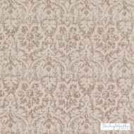 Bailey Griffin - Be42582-194 - Cotswold - Toffee  | Cushion Fabric - Beige, Damask, Linen and Linen Look, Medallion, Natural Fibre, Tan, Taupe, Traditional, Dry Clean, Print
