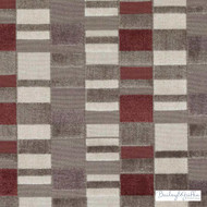 Bailey Griffin - Bu15834-338 - Hapsburg Velvet - Currant | Upholstery Fabric - Fire Retardant, Brown, Burgundy, Contemporary, Stripe, Dry Clean