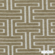Bailey Griffin - Bu15837-282 - Minos - Bisque | Upholstery Fabric - Fire Retardant, Tan, Taupe, Fret, Greek Key, Dry Clean, Texture, Fibre Blend