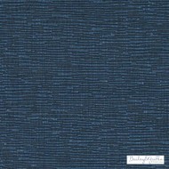 Bailey Griffin - Bu16146-76 - Kinan - Cadet | Upholstery Fabric - Fire Retardant, Linen/Linen Look, Blue, Dry Clean, Plisse, Texture, Tone on tone