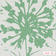 Lulu DK - Le42549-254 - Shine - Spring Green | Cushion Fabric - Linen/Linen Look, Green, Floral, Garden, Botantical, Dry Clean, Abstract, Natural