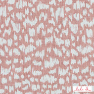 Lulu DK - Le42556-122 - Anka - Blossom  | Cushion Fabric - Linen and Linen Look, Midcentury, Natural Fibre, Pink, Purple, Small Scale, Abstract, Dry Clean, Natural, Print