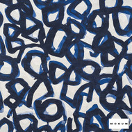 Mokum - Canvas - Yves Klein - 12547-524  | Upholstery Fabric - Blue, Contemporary, Acoustic Properties, Stain Repellent, Abstract, Backing, Pattern
