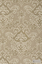 James Dunlop - Notting Hill - Latte - 12549-107  | Curtain Fabric - Brown, Traditional, Damask, Decorative, Natural, Rococo, Natural Fibre
