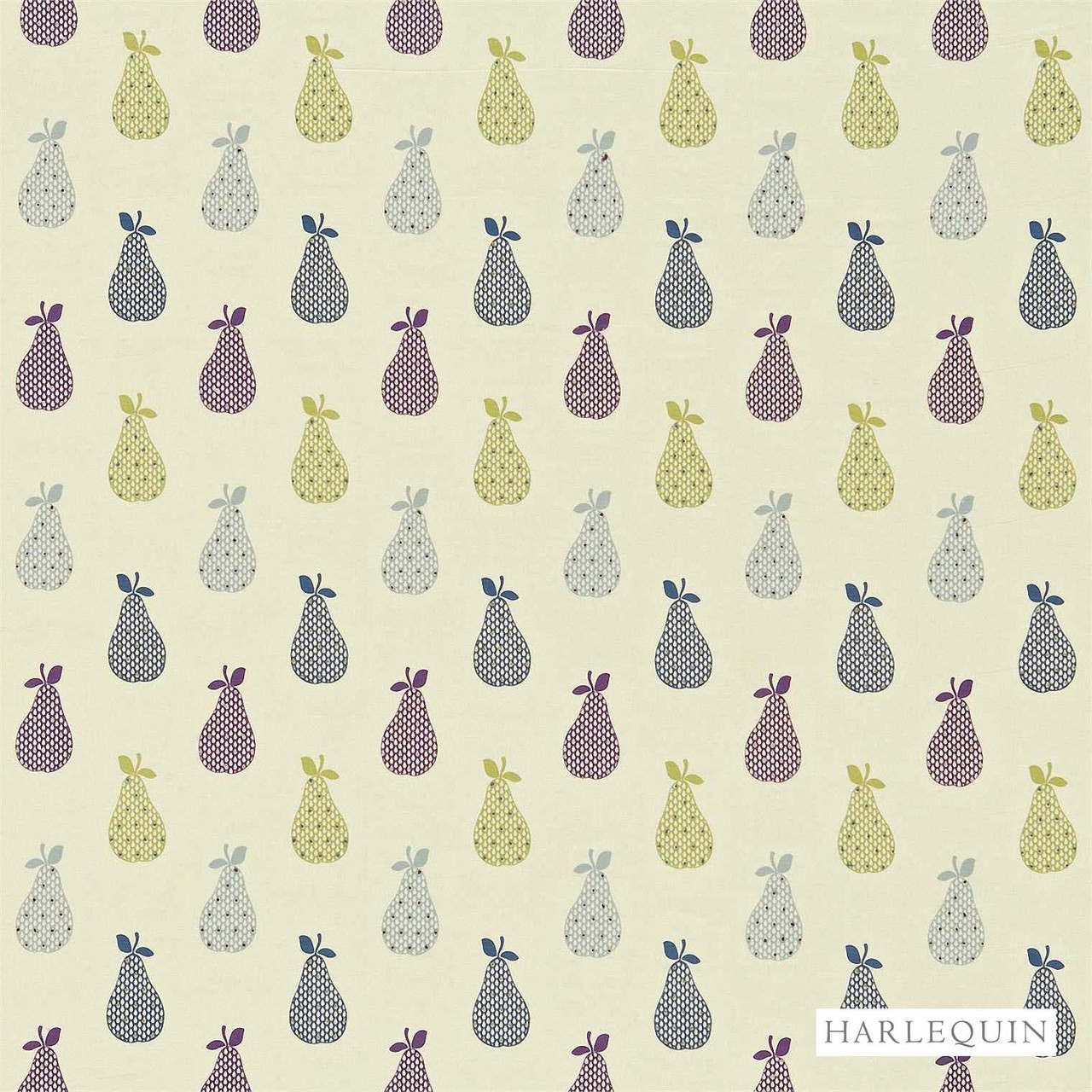 Harlequin Josefa 130348  | Curtain Fabric - Fibre Blends, Floral, Garden, Harlequin, Midcentury, Pink, Purple, Commercial Use, Domestic Use, Kitchen, Standard Width