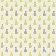 Harlequin Josefa 130351  | Curtain Fabric - Gold,  Yellow, Fibre Blends, Floral, Garden, Harlequin, Midcentury, Commercial Use, Domestic Use, Kitchen, Standard Width