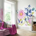 The simply lovely wallcoverings from the Florrie design style range by bluebellgray