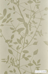 James Dunlop Indent - Silhouette Wallpaper - Cognac - 12507-161 | Wallpaper, Wallcovering - Gold, Yellow, Floral, Garden, Botantical, Asian